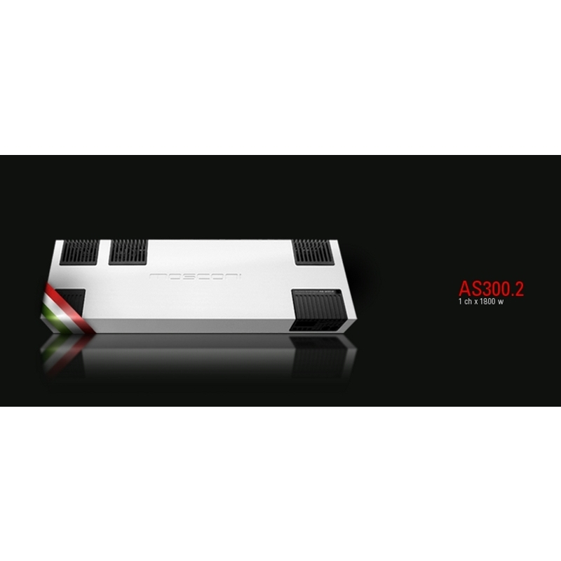 Amplificatore mosconi gladen as 300.2 - Amplificatori 2 canali