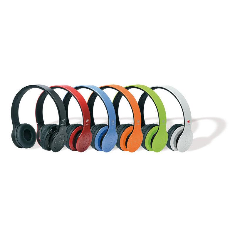 B Cuffie Wireless con Tecnologia Bluetooth (nere). MACROM M-HPB20.B Cuffie  Bluetooth Nere 41e9b2c2c050