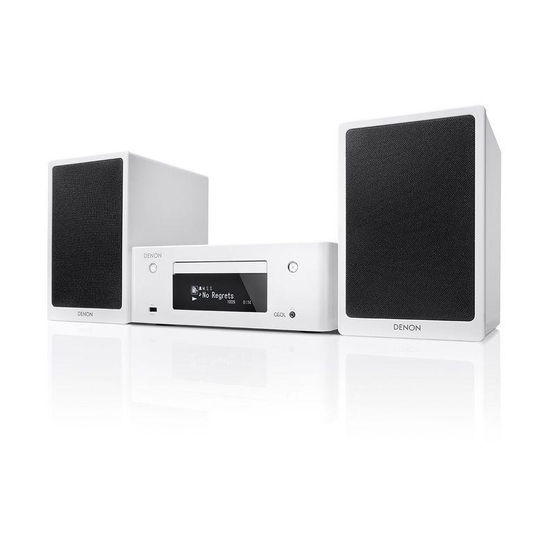 Bianco Denon RCD-N9 Sintoamplificatore con Lettore CD