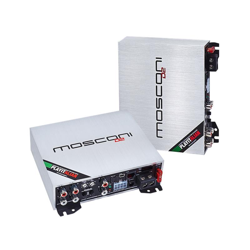 Amplificatore mosconi gladen d2 100.4 dsp - Amplificatori 4 canali