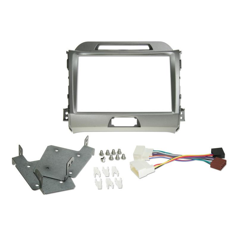 Kit installazione per kia sportage grigio kit-8ksg Alpine - Sorgenti