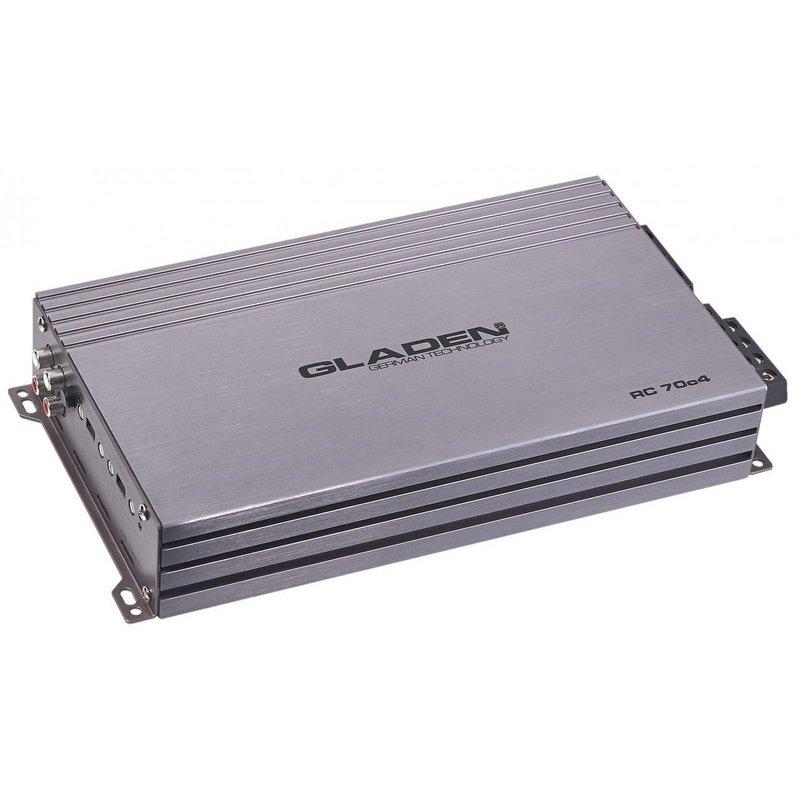 GLADEN RC70c4 - Amplificatore a 4 canali Ultra Compatto in classe AB