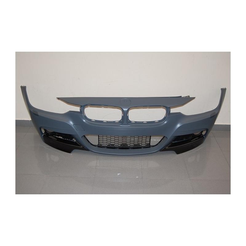 PARAURTI ANTERIORE BMW SERIE 3 F30 / F31 ABS C/FLAP CARBONIO
