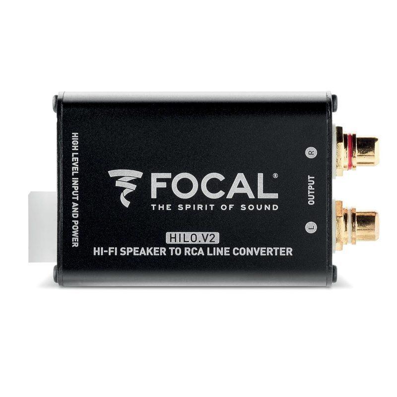 Focal HILO.V2 convertitore alto/basso livello a 2 canali