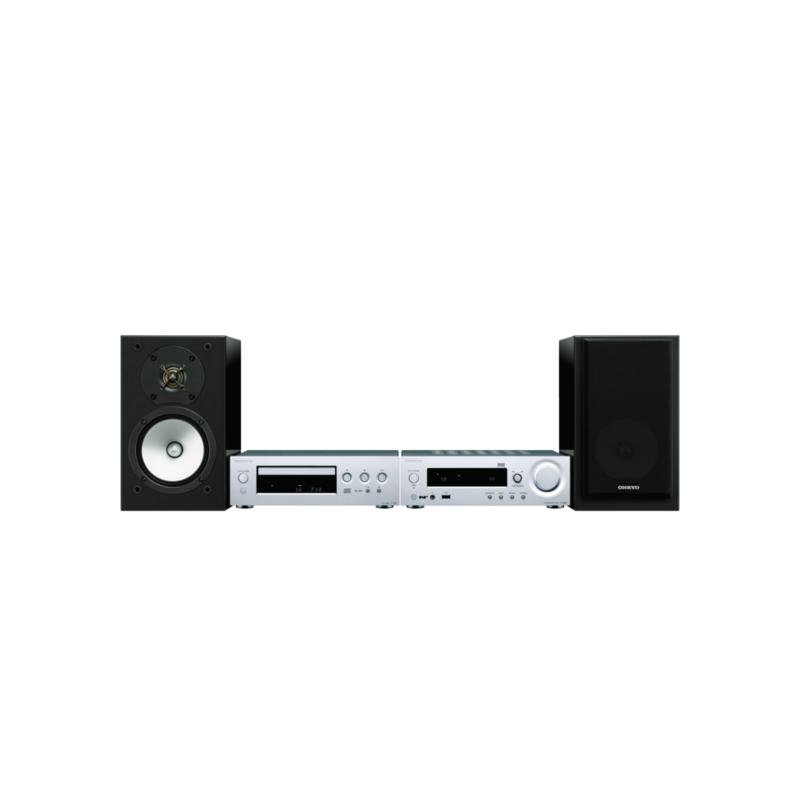 ONKYO CS-N1075 Compact Hi-Fi System (Silver)