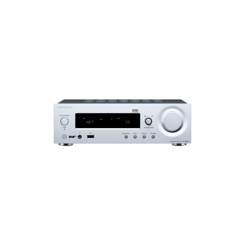 ONKYO R-N855 Network Stereo Receiver (silver)