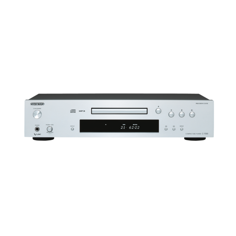 ONKYO C-7030 COMPACT DISC PLAYER (silver)