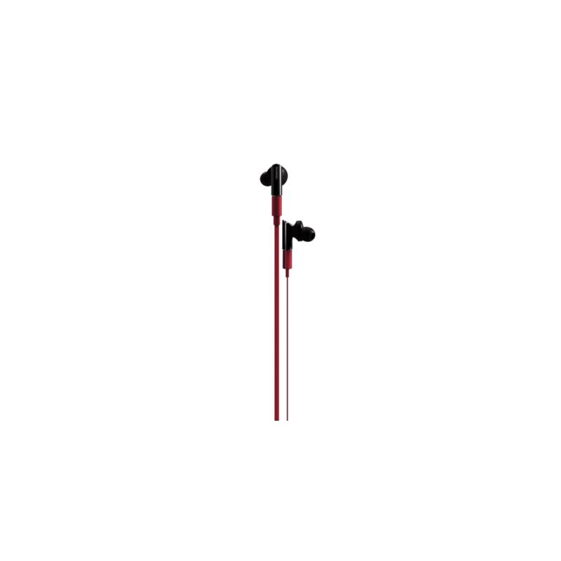 ONKYO IE-FC300 ON-EAR HEADPHONES (Red)