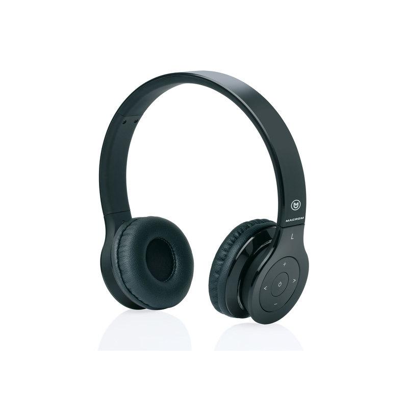 MACROM M-HPB20.B Cuffie Wireless con Tecnologia Bluetooth (nere) b05ea20d75ca