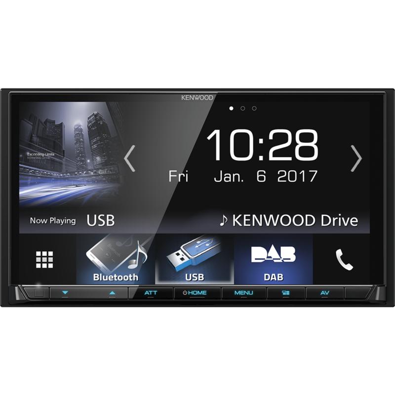 KENWOOD DMX7017DABS Monitor Mechaless da 7 pollici