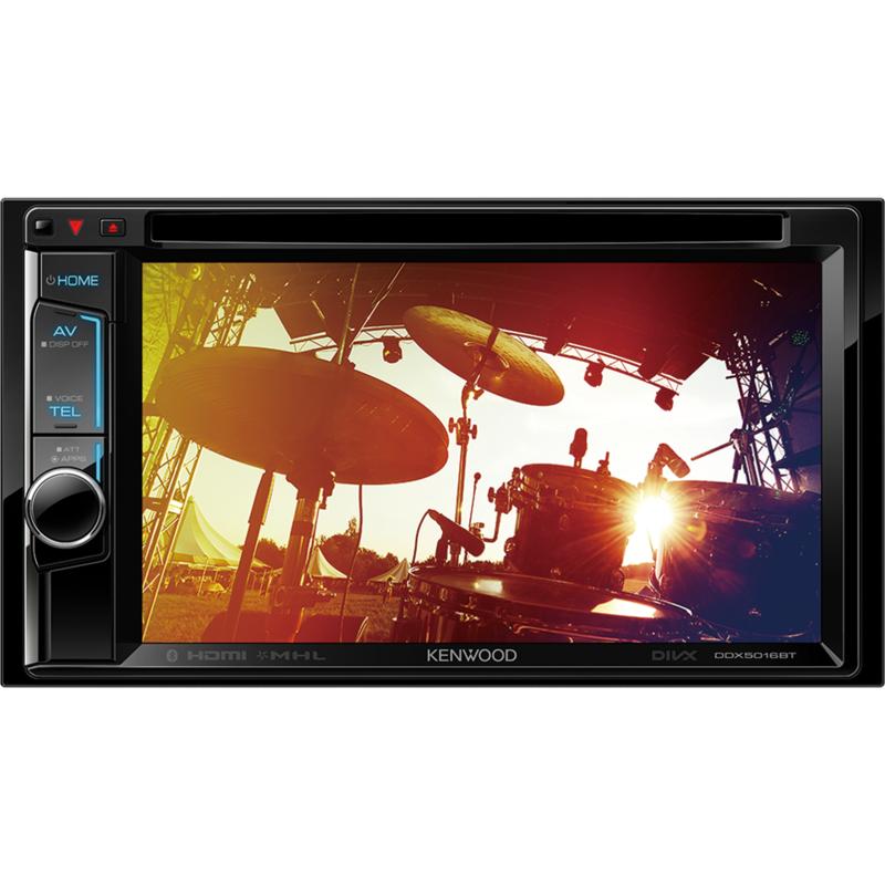 KENWOOD DDX5016BT Sintomonitor 6,2 pollici WVGA con USB e DVD receiver e Bluetooth integrato