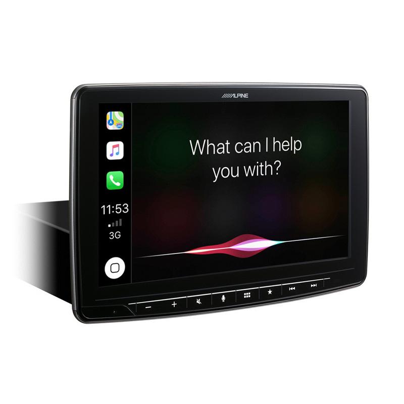 """Alpine iLX-F903D - Schermo da 9"""". Digital Media Station, compatibile con Apple CarPlay & Android Auto - iLX-F903D"""