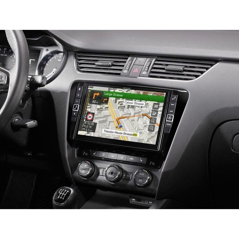 "Alpine i902D-OC3 monitor 9"" System for Skoda Octavia 3, featuring Apple Car"