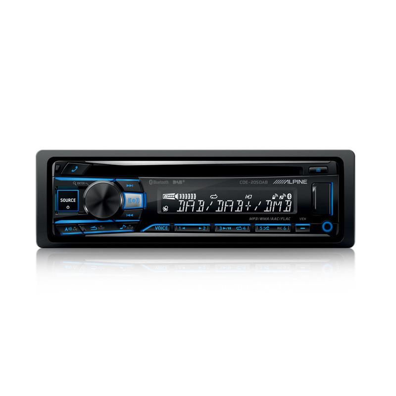 ALPINE CDE-205DAB+ANT - AUTORADIO DIGITALE CD/DAB/USB CON BT + ANT