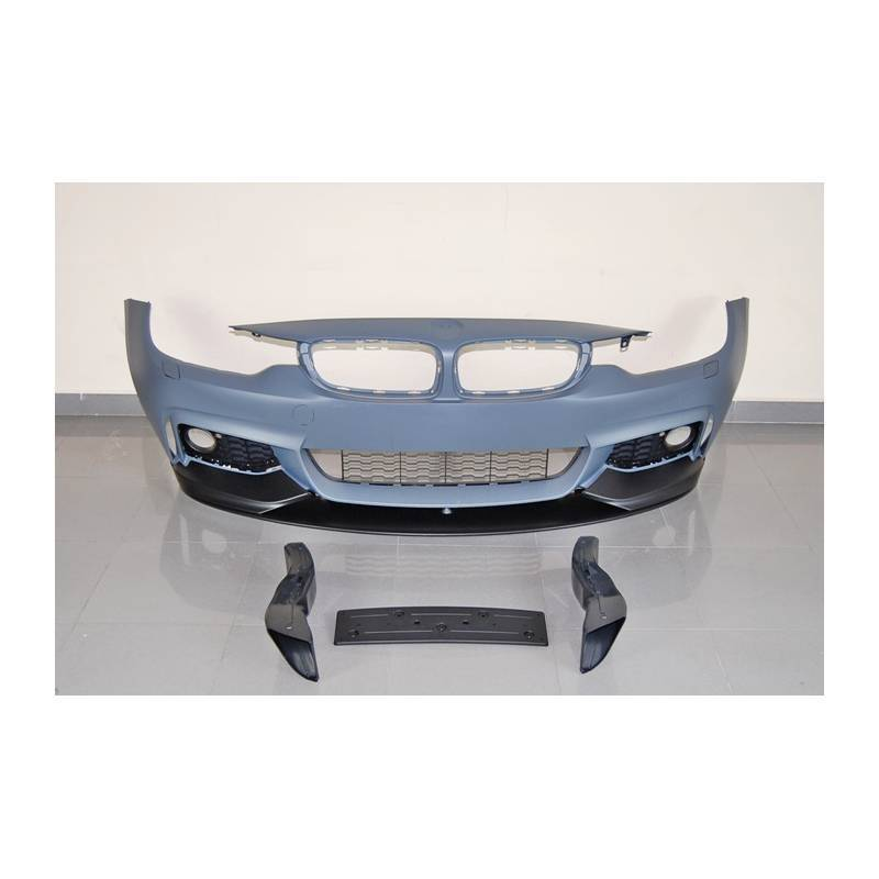 Paraurti Anteriore BMW F32 F33 F36 Look M Performance Spoiler ABS