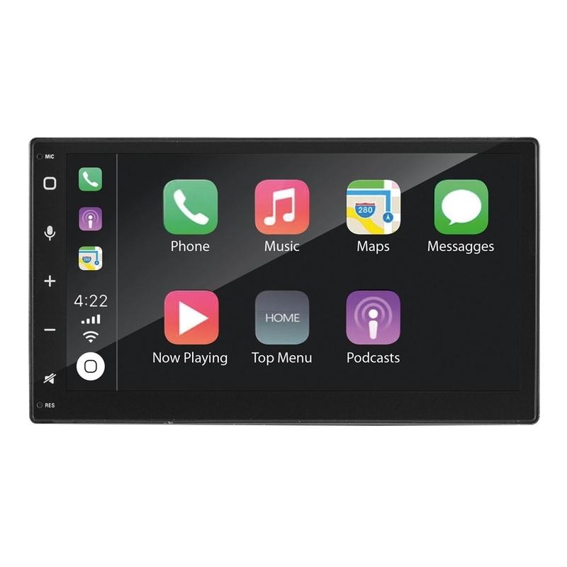 PHONOCAR VM012E autoradio DAB+ Car Play, Androind Auto, GPS mappe EU,2 DIN 6.75