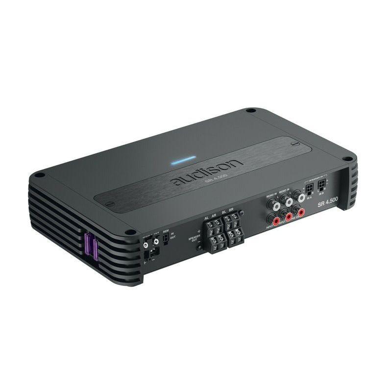Audison SR 4.500 Amplificatore 4 canali 4x125W con crossover
