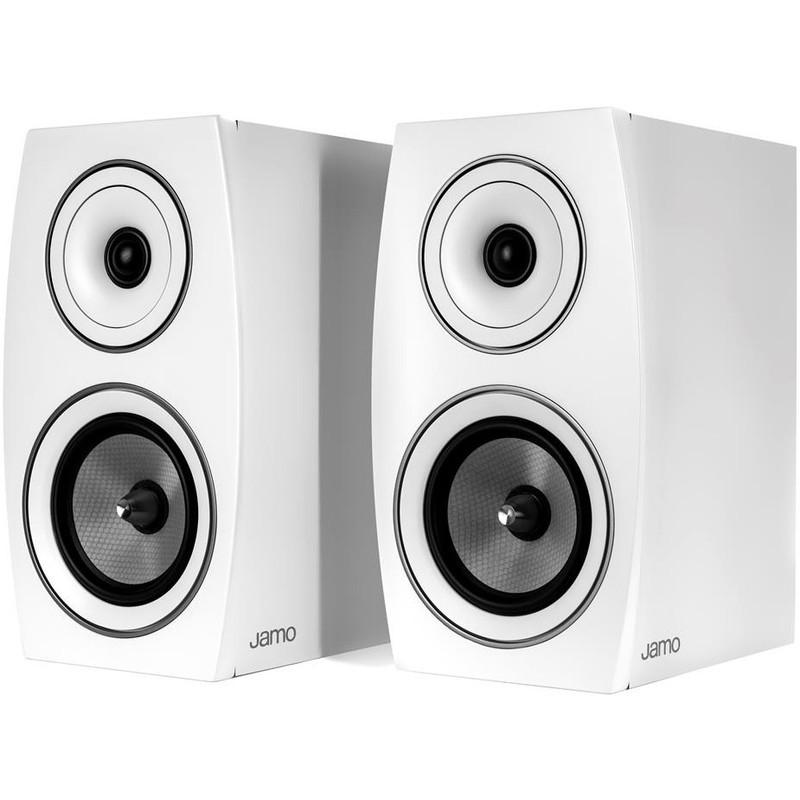 JAMO C 93 II WHITE OAK Coppia diffusori da scaffale colore bianco