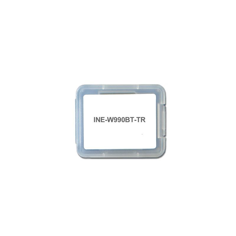 Alpine ine-w990bt-tr - software di navigazione per ine-w990bt Alpine - Inew990bttr