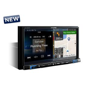 ALPINE INE-W997D monitor 7 pollici  senza meccanica cd/dvd , 1 din, software di navigazione iGO Primo
