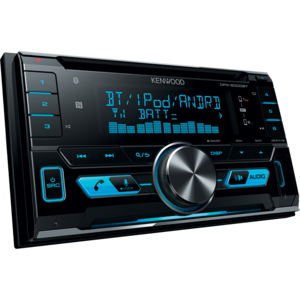 KENWOOD DPX-5000BT Sintolettore CD 2DIN con USB frontale e Bluetooth integrato