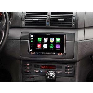 """Alpine iLX-702E46 Monitor 7""""per BMW 3 serie E46 apple carplay / android auto"""
