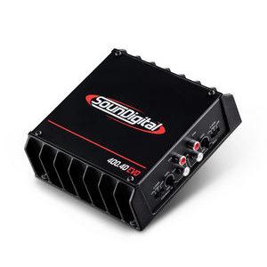 SounDigital SD400.4D EVO II amplificatore a 4 canali -  4 x 100w e 2x200w con collegamento a ponte