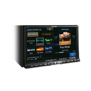 ALPINE X800D-U Monitor 2 din  8 pollici navigatore cd/dvd/dvx