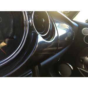 PELLICOLA CAR WRAPPING CARBONIO 5D EXTRA LUCIDO ADESIVO 100x152