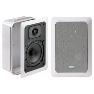 INDIANA LINE SQ 205 diffusori da incasso - colore bianco opaco