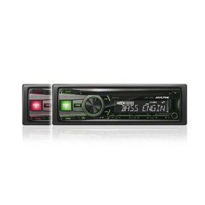 ALPINE CDE-192R Tuner - CD - USB - doppia illuminazione - compatibile con iPhone 6 / 6 Plus