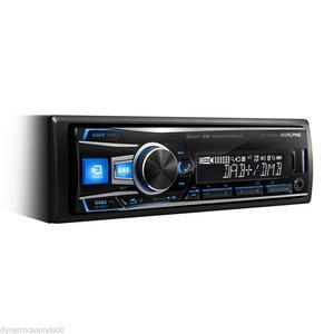 ALPINE UTE-93DAB mecha-less con Bluetooth - USB - Aux-In - DAB+