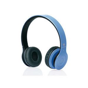 MACROM M-HPB20.C Cuffie Bluetooth Blu Cyano