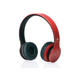MACROM M-HPB20.R Cuffie Bluetooth Rosse