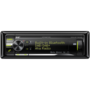 KENWOOD KDC-BT73DAB Sintolettore CD/USB con tuner DAB e DAB+ e vivavoce BT