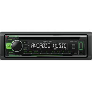KDC-110UG Sintolettore CD/USB con illuminazione tasti verde