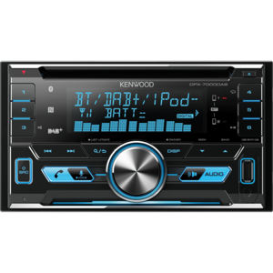KENWOOD DPX-7000DAB 2DIN DAB-Tuner / Bluetooth / USB / CD-Receive