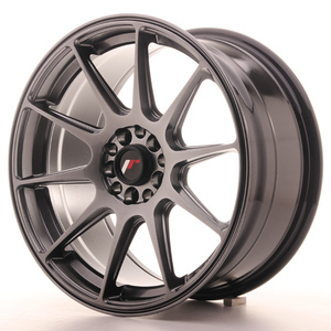 Japan Racing Set JR11 17x8,25 ET25 4x100/108 Hiper Black