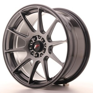 Japan Racing SET JR11 17x8,25 ET35 4x100/114,3 Hiper Black