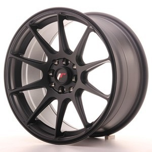Japan Racing SET JR11 17x8,25 ET25 4x100/108 Matt BlacK