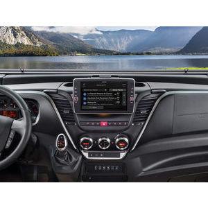 """Alpine X902D-ID Navigazione con schermo da 9"""" Touch per Iveco Daily"""