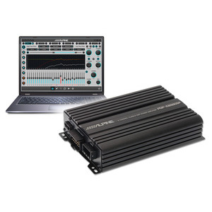 ALPINE PDP-E800DSP - Amplificatore Digitale a 8 Canali con DSP