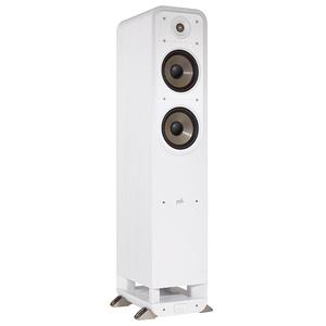 POLK AUDIO S55e Coppia di diffusori da pavimento 2 VIE reflex colore bianco garanzia italia