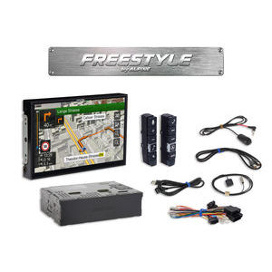 Alpine X902DC-F  Sistema Multimediale Freestyle con display a 9 pollici