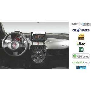 Alpine iLX-F903D-312-B kit di installazione di colore Nero Opaco + iLX-F903D monitor 9 pollici - kit per fiat 500 e Abarth 500 dal 2007 al 2015