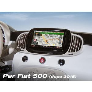 Alpine INE-W720-500MCA - monitor 7 pollici con navi integrato, no meccanica Cd per Fiat 500 dal 2015