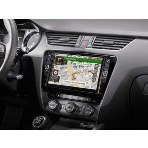 """Alpine i902D-OC3 monitor 2 din 9"""" System for Skoda Octavia 3, Apple Car"""