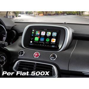 Alpine ILX-702D-500X monitor 7 pollici dedicato a Fiat 500X dal 2014