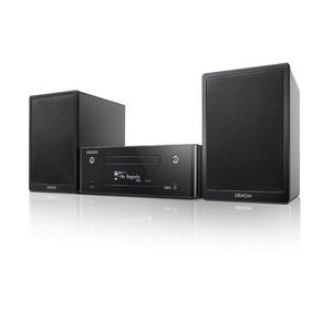 Denon CEOL N9 Sistema composto dal sintoamplificatore RCD-N9 e dai diffusori SC-N9 colore nero