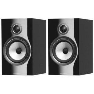 B&W 706 Coppia di diffusori da scaffale colore nero